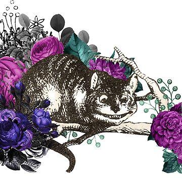 Chesire Cat Alice's Adventures in Wonderland by 4Craig