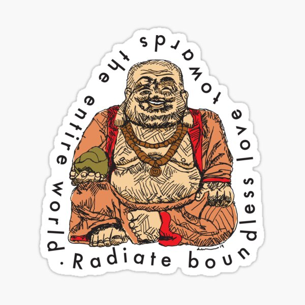 Radiate Boundless Love Sticker