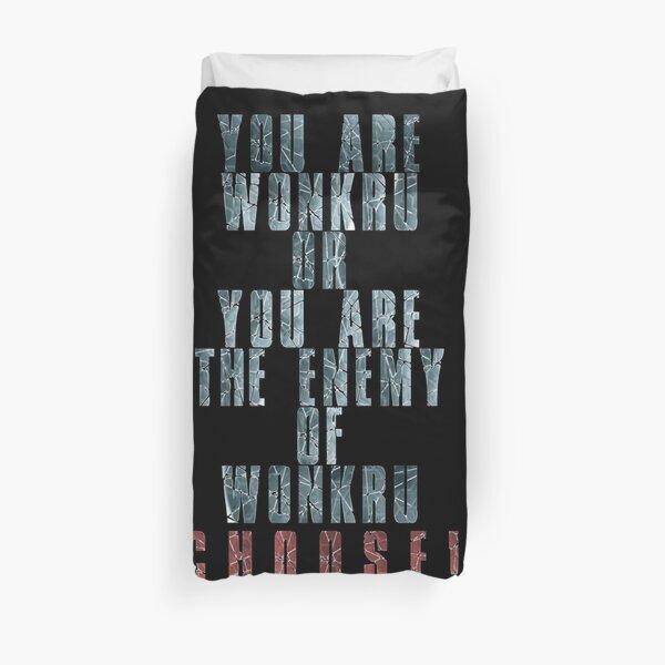 Vous êtes Wonkru ou l'ennemi de Wonkru. Choisir! Housse de couette