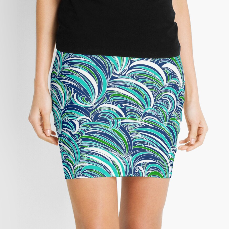 Waves Mini Skirt