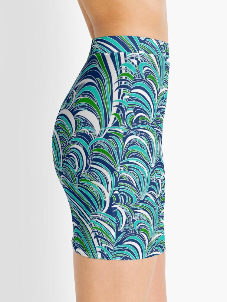Alternate view of Waves Mini Skirt