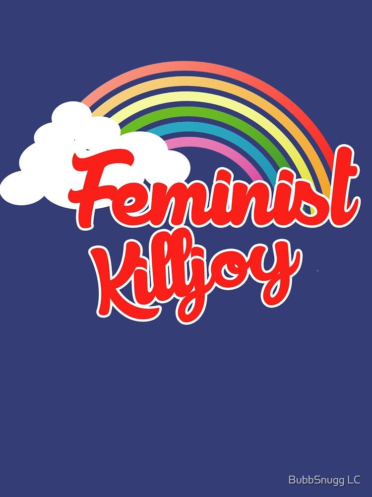Feministischer Killjoy Retro-Regenbogen von Boogiemonst
