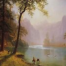 Bierstadt, Kern's River Valley, California 1871  by edsimoneit