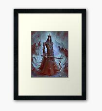 Lich King White Walker Ringwraith Framed Print