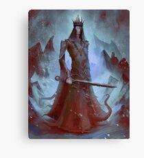 Lich King White Walker Ringwraith Canvas Print