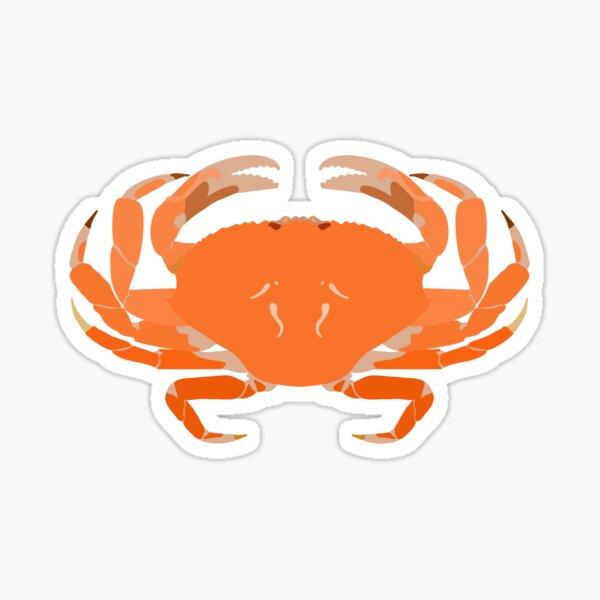 Alaskan Dungeness Crab Sticker