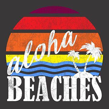 Aloha Beaches | Beach Designs | DopeyArt by DopeyArt