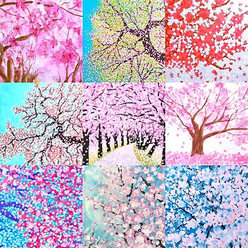 Spring trees  by Wonju