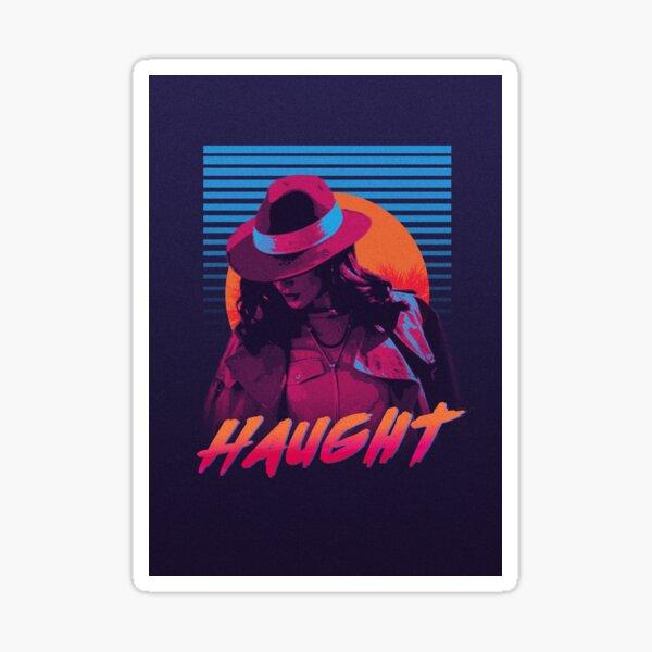 Haught San Diego - Nicole Haught - Wynonna Earp Sticker