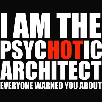 Hot Psychotic Architect You Were Warned About by losttribe