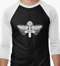 Portafilter Power White Edition Men's Baseball ¾ T-Shirt