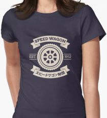 SPW - Speed Wagon Foundation [Cream] Womens Fitted T-Shirt