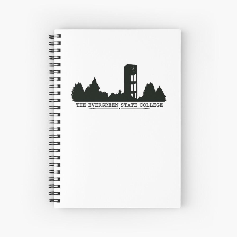 The Evergreen State College Clock Tower Spiralblock