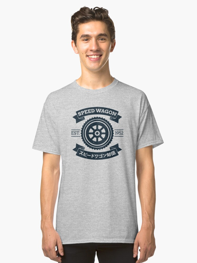 SPW - Speed Wagon Foundation [Navy] Classic T-Shirt Front
