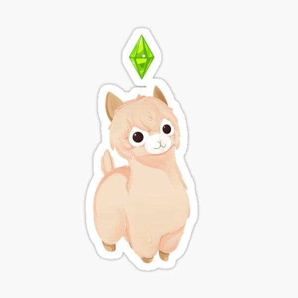 Llama Wants a Plumbob Sticker