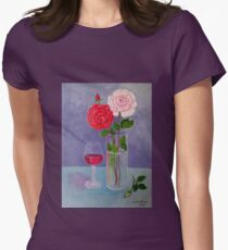 Study of a still life with roses T-Shirt