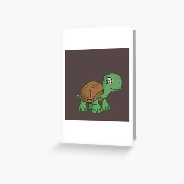 Mathilde - The Turtle of Mischief Corner  Greeting Card