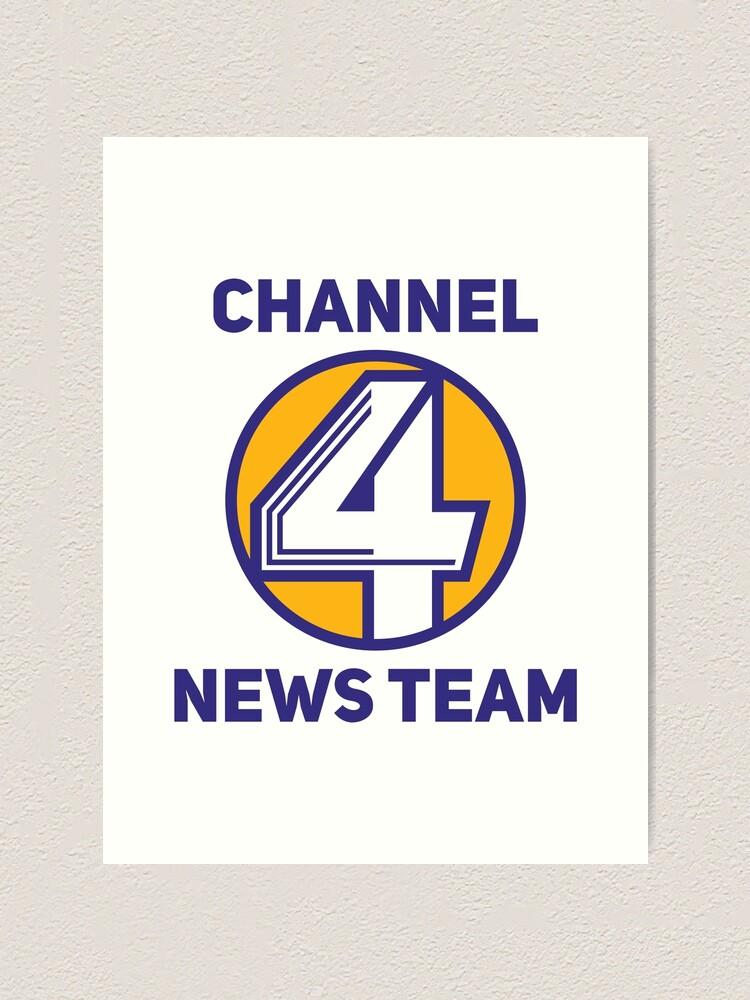 Alternate view of Anchorman - Channel 4 News Team Art Print