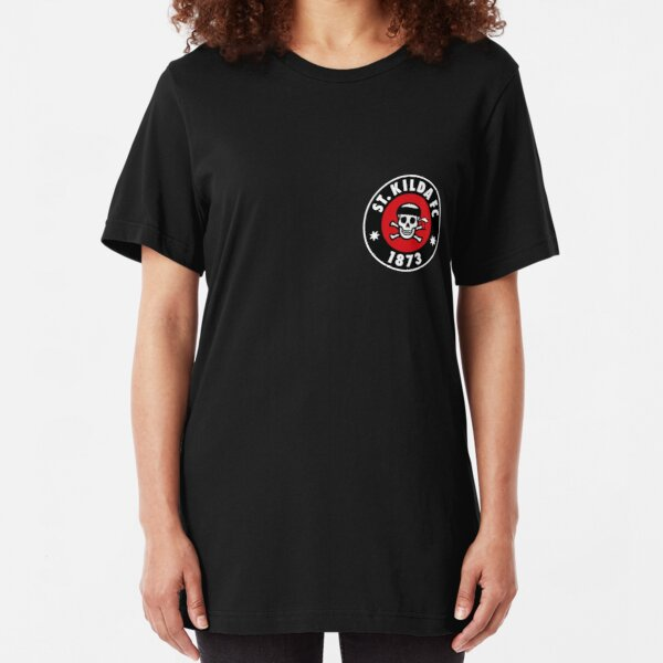 St Kilda in the style of St Pauli Slim Fit T-Shirt