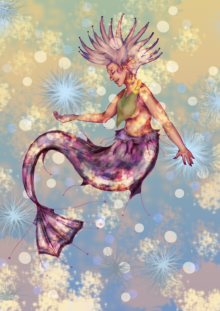 Mermaid by rosemask22