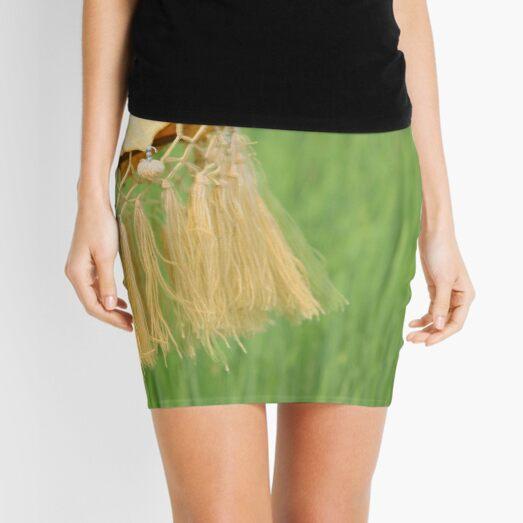 Rice Field Afternoon Breeze  Mini Skirt