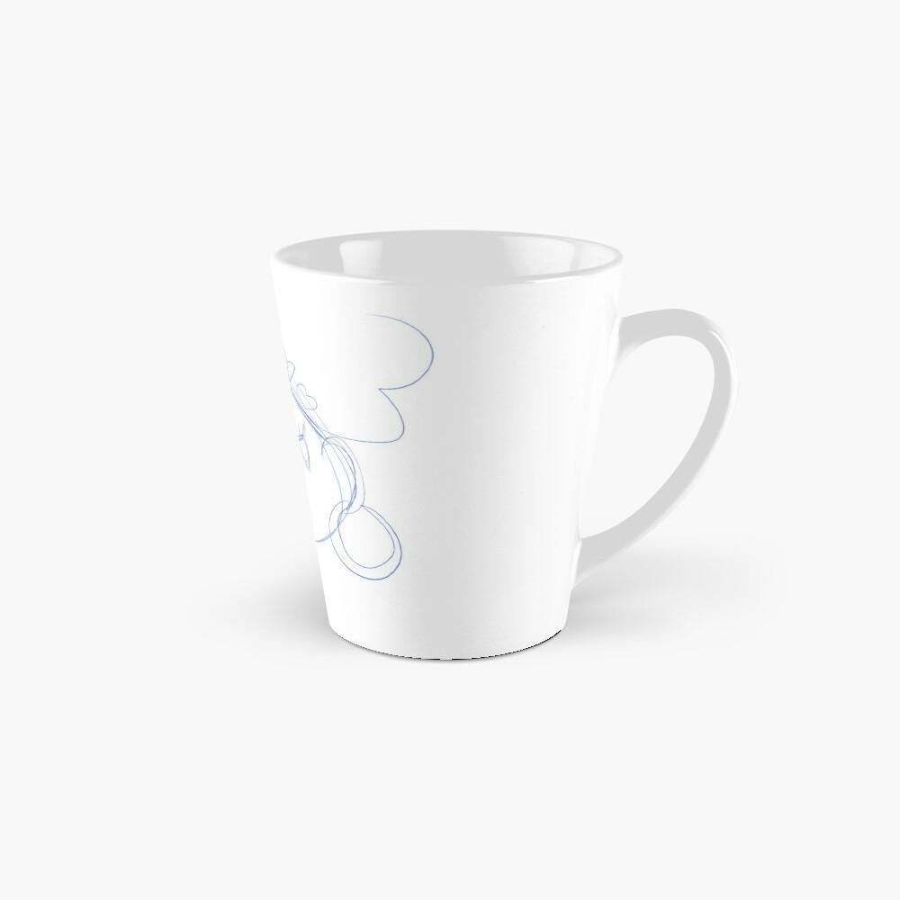 Blue Glare Sketch Mug