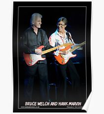 Cliff Richard and Hank Marvin Poster