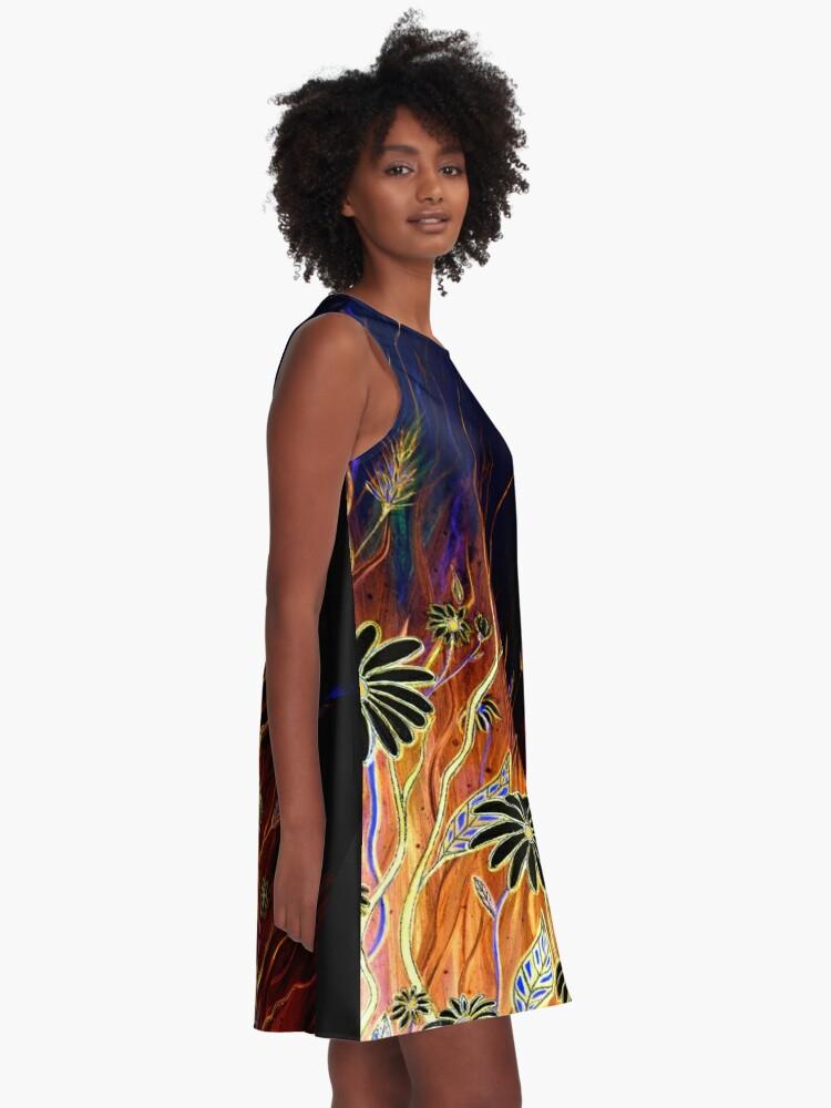 Alternate view of Flower Dreams A-Line Dress