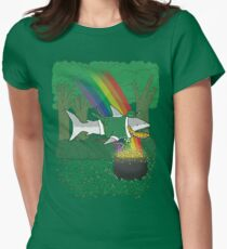 The Lucky Shark Women's Fitted T-Shirt