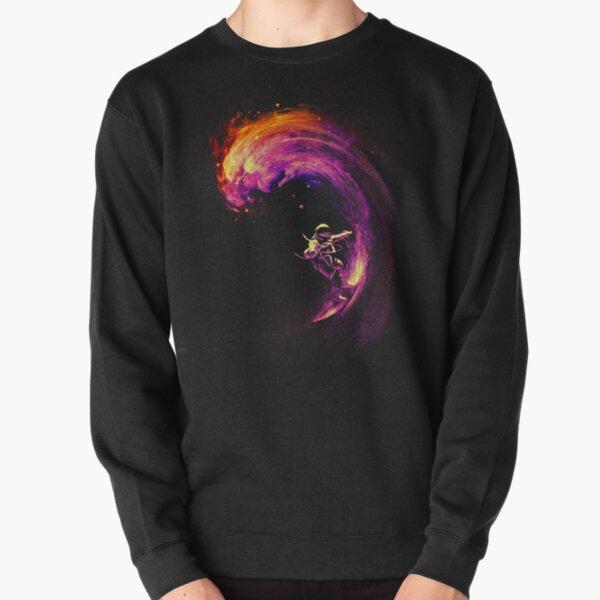 Space Surfing Pullover Sweatshirt