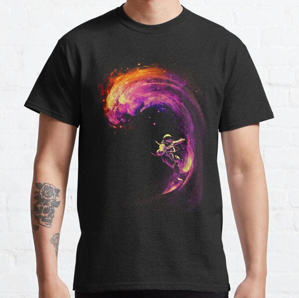 Surf espacial Camiseta clásica