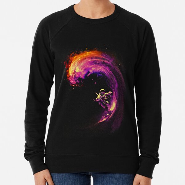 Space Surfing Lightweight Sweatshirt