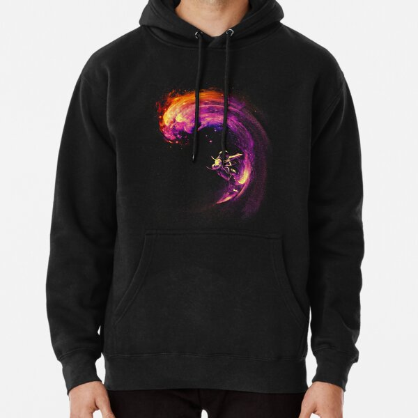 Space Surfing Pullover Hoodie