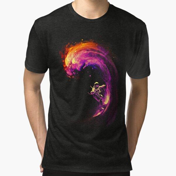 Weltraum-Surfen Vintage T-Shirt