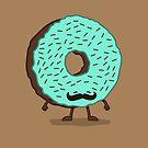 The Mustache Donut by nickv47