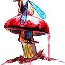 Mushroom Fairy 2 by Beau Singer