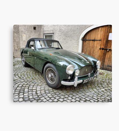 Classic Cars . Canvas Print