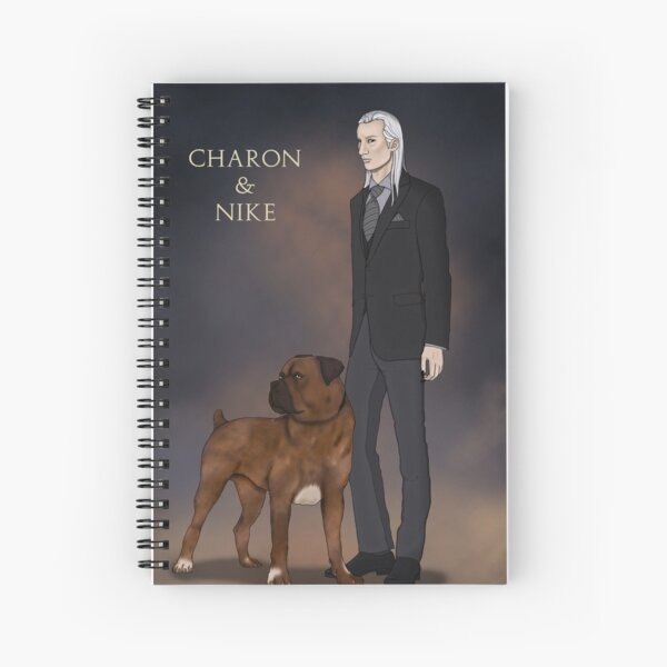 Charon and Nike Spiral Notebook