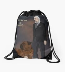 Charon and Nike Drawstring Bag f1bd9f1f7cef8