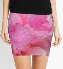 Pink Camelia Mini Skirt