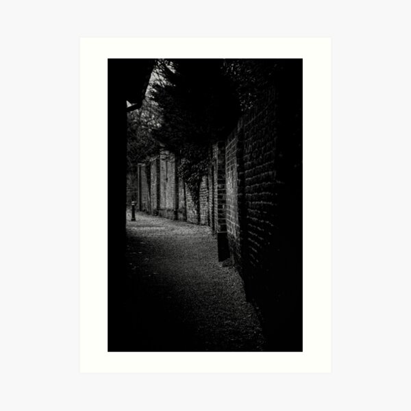 Into the Alley Art Print