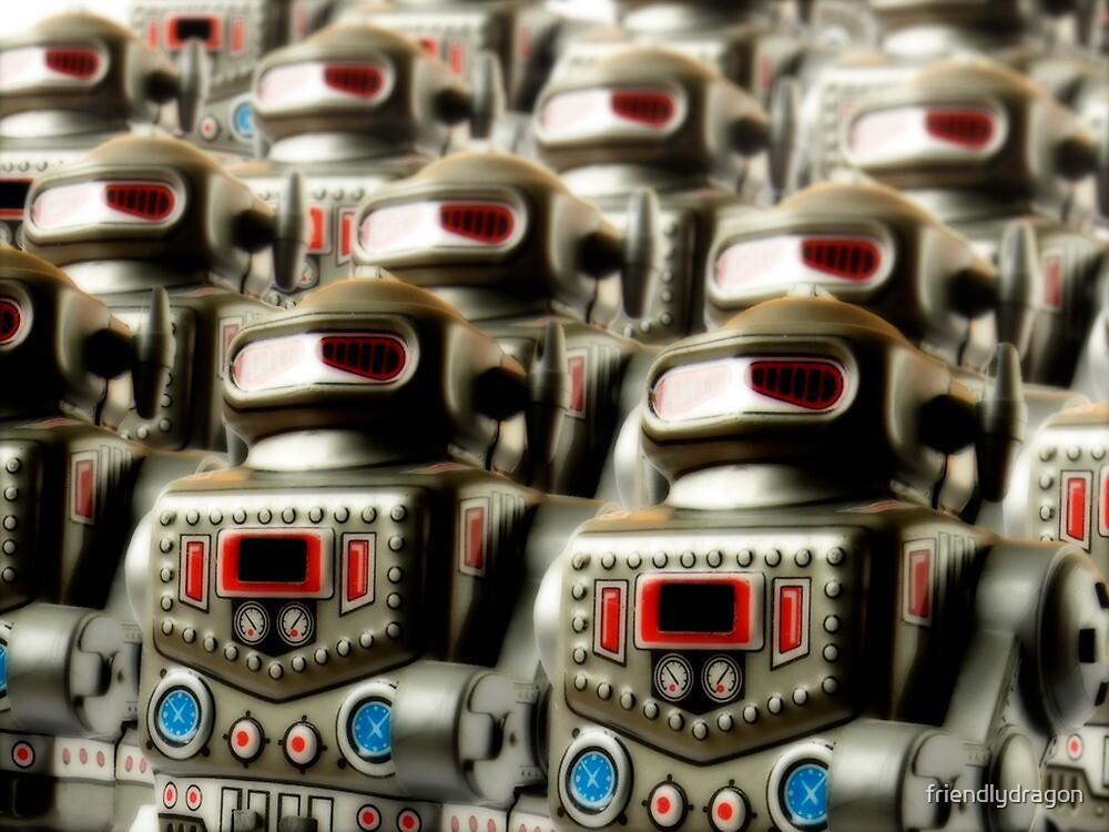 Robot Army by friendlydragon