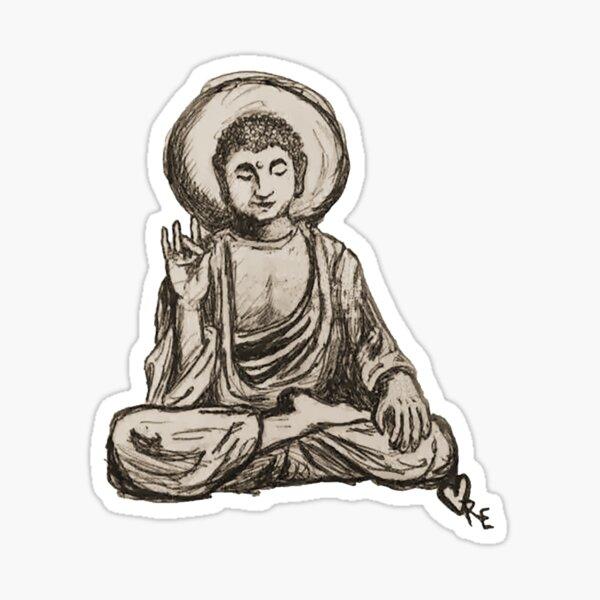 Jail Buddha by Reality Sticker