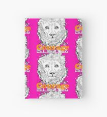Courage Cat Lion Hardcover Journal