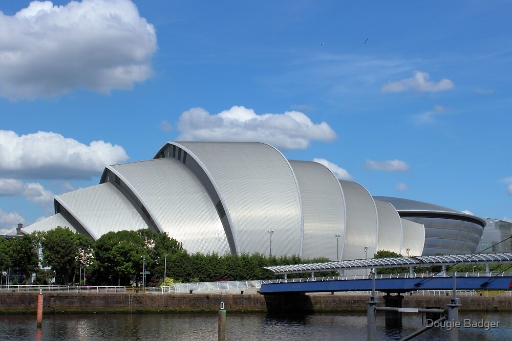 """Clyde Auditorium Glasgow """"The Armadillo"""" 2 by Dougie Badger"""