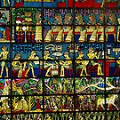 Stained Glass Hieroglyphs by Shubd