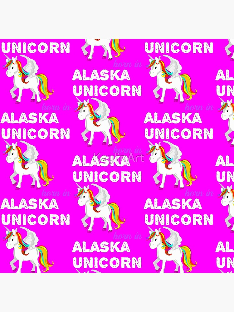 Einhorn in Alaska geboren von KaylinArt