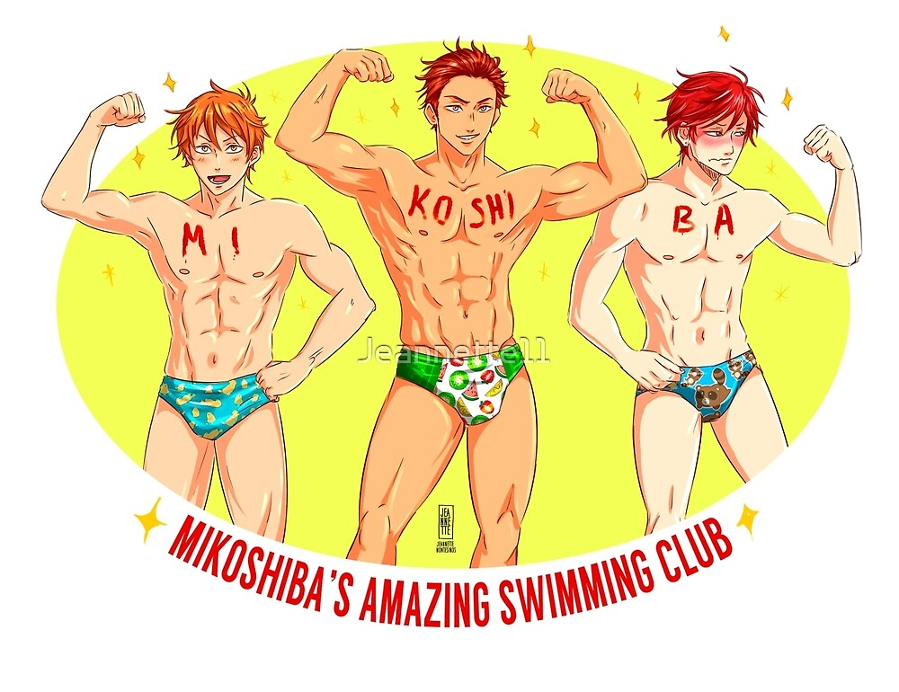 Mikoshibas swimming club by Jeannette11