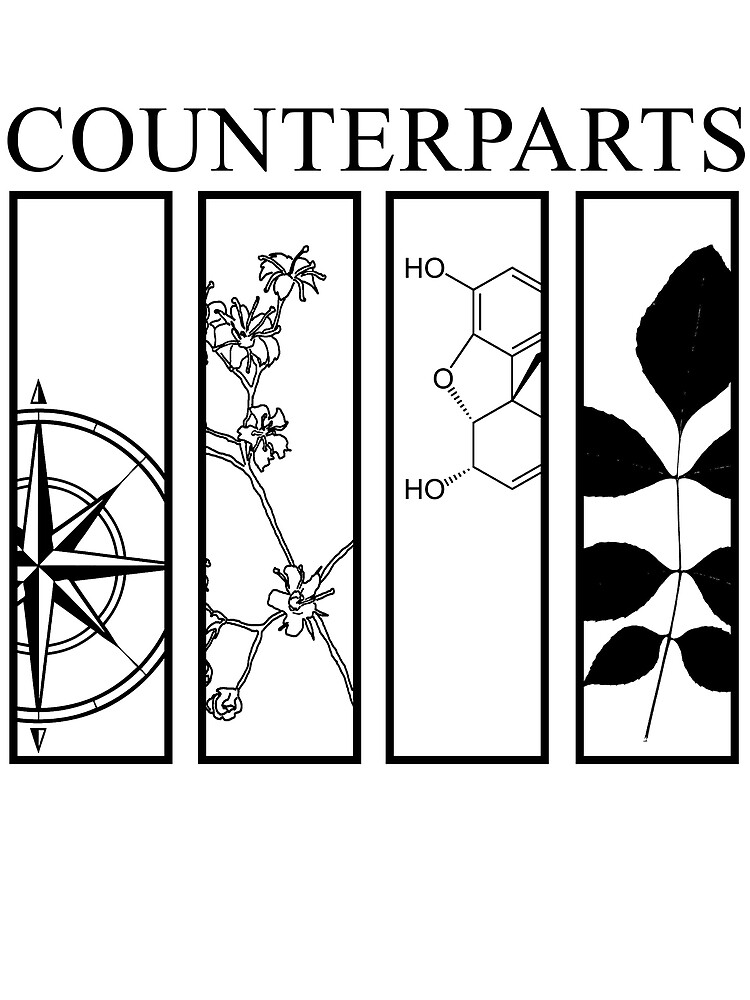 Counterparts Sticker by TheSurgeon