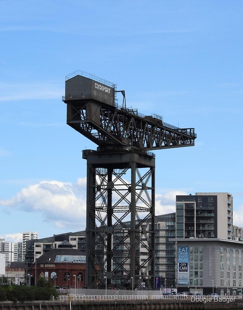 Finnieston Crane  by Dougie Badger